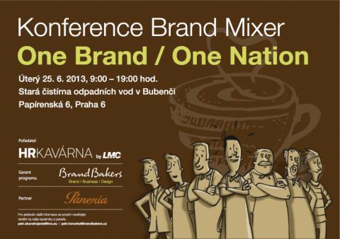 Konference Brand Mixer - One Brand / One Nation přeložena na 25.6.