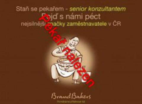 Staň se pekařem, senior konzultantem