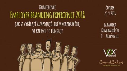 Konference Employer Branding Experience 2018 (2. ročník)