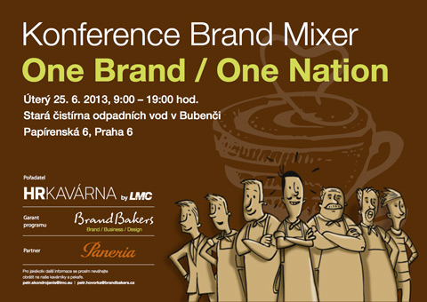 Konference Brand Mixer • One Brand / One Nation
